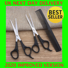 Hairdressing Scissors Professional Thinning Cutting Barber Shears Salon Comb Set