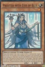 Priestess with Eyes of Blue - MP17-EN055 - Super Rare 1st Edition Yugioh