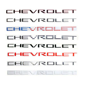 Chevrolet Tailgate Insert Emblem Badge for Chevy Silverado 1500 2500 3500 2019+