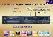 NEW 4K Karaoke Android KHP-8832 5TB HDD 56K Vietnamese &English songs DVD Player