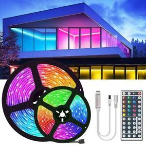 12V USB LED Strip Lights TV Back Light 5050 RGB Color Change with Remote
