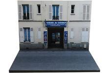 Diorama Garage du Garavan - 1/43ème - #43-2-B-B-039