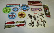 Vintage 1980,s BMX advertising Stickers