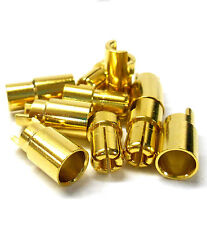 C0602 RC Connector 6mm Gold Plated Male and Female Bullet Banana x 5 Set