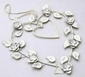 Wire Heart Hanger -19cm