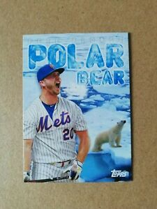 2020 Topps Archives Baseball Nickname Poster Card #310 Polar Bear - Pete Alonso