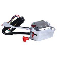 Chrome 12V Universal Rat Hot Rod Turn Signal Switch for FORD GM V4F6