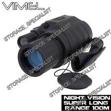 Night Vision Monocular Digital NV Camera Goggles Binocular Hunting Security DVR