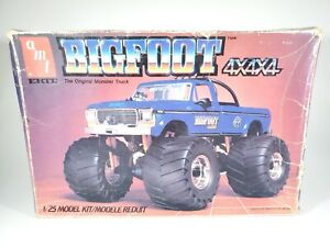 ERTL AMT BIGFOOT MONSTER TRUCK 4x4x4 MODEL KIT ORIGINAL ISSUE **BOX ONLY**