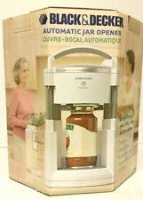 Black & Decker Automatic Jar Opener Lids Off White Jw200 Pre-owned Great Shape