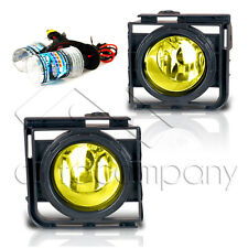 11-15 Scion xB Fog Lights w/Wiring Kit & HID Conversion Kit - Yellow