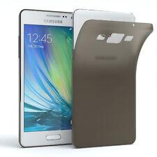 Schutz Hülle für Samsung Galaxy A5 (2015) Cover Handy Case Matt Schwarz