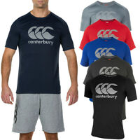 Canterbury Mens Core Vapodri Large Logo QuickDry Breathable T-Shirt