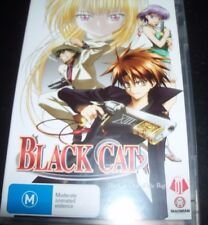 Black Cat Vol 01 The Cat Out Of The bag (Australia Region 4) DVD – Like New