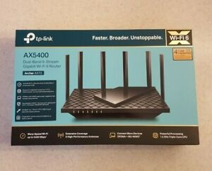 TP-LINK Archer AX5400 AX73 Dual-Band Wi-Fi 6 Router NEW