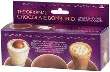 Funtime Luxury Melting Hot Chocolate Bomb Balls -Trio with Marshmallows Tik Tok