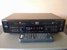 Sony Mxd-D40 Compact Disc MiniDisc Deck Cd Md Mdlp Reader Recorder w/ Remote