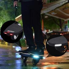 2 Wheel Electric Skateboard Deck Longboard Scooter Remote Control + LED Lights