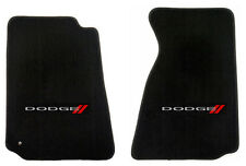 NEW! BLACK FLOOR MATS 2007-2011 Dodge NITRO Embroidered Logo Front Pair