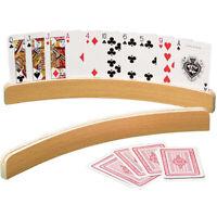 1 Stück hölzerner Spielkartenhalter Poker Party Spielzubehör Poker Base St PMWP4