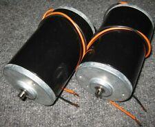 2 X 12 VDC Electric Motor - 115 Watt Wind / Hydro Generator - 6000 RPM - 160 A