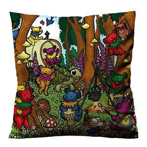 NEW BEST GRATEFUL-DEAD-DANCING Decorative Zippered Throw Cushion Pillow Case