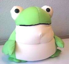 """Snow Foam Micro Beads 16""""-18"""" Japanese Coloful Standing Frog Cushion Pillow-New"""
