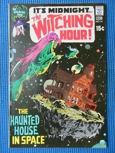 THE WITCHING HOUR # 14 - (VF/NM) - NEAL ADAMS COVER -THE HAUNTED HOUSE IN SPACE