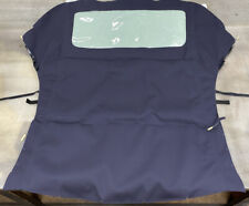 PORSCHE 996 CONVERTIBLE TOP -  GERMAN CANVAS BLUE 1999 - 2001
