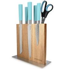 Messerbrett aus Akazie Magnet Messerblock Magnethalter Messerhalter magnetisch