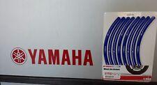 """Yamaha """"Felgenrand-Aufkleber blau 17 Zoll Räder""""  Original Yamaha Zubehör"""