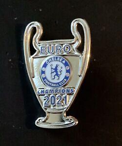 Chelsea FC Champions League Winners pin badges