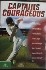 CAPTAINS COURAGEOUS RARE DELETED OOP REGION 4 DVD CRICKET DOCUMENTARY IMRAN KHAN