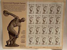 Scott 3087 Centennial Olympic Games 32ct 20 Stamp Sheet