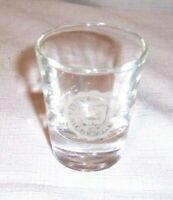 VINTAGE UNIVERSITY OF NOTRE DAME FIGHTING IRISH WHISKY LIQUOR Shot Glass