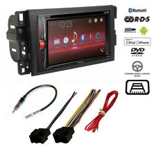 Pioneer Double DIN Bluetooth USB Car Stereo CD Player+Chevy Radio Dash Kit