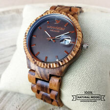 Orologio da polso Legno | Men Wood Watch | Reloj Madera | Montre Bois | Holzuhr