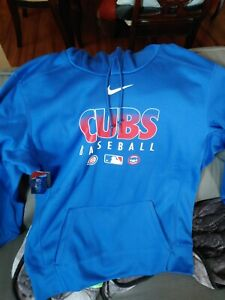 Chicago Cubs Nike Authentic Collection Hoodie 2020 Men's Size: Large NWT