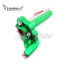 Green CNC Twist Throttle Cable Assembly For Kawasaki KX125 KX250 KX110 Dirt Bike