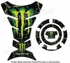 MONSTER pour YAMAHA kit PROTECTION RESERVOIR et CACHE GAZ