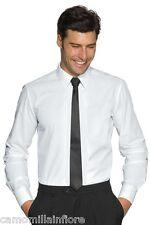 Camicia Uomo Bianca Tg M 41 Elastica Slim Aderente Per Esaltare Il Fisico*
