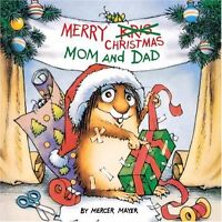 Merry Christmas Mom and Dad (A Golden Look-Look Book) by Mercer Mayer