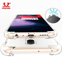 For Oneplus 6/6T/5/5T/3 Luxury Shockproof Crystal Clear Slim Silicone Cover Case
