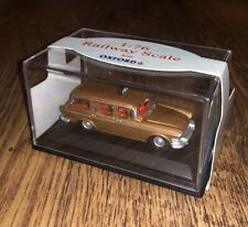OXFORD 76SS003 1:76 'OO' SCALE - HUMBER SUPER SNIPE ESTATE - TAXI - BROWN