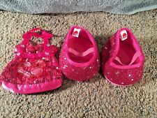 Build a Bear Accessories Pink/ Fuchsia Shoes and Purse