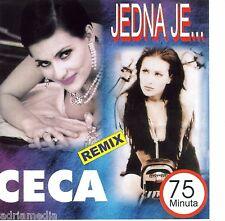 Jedna je CECA CD Raznatovic Svetlana Velickovic Best Hitovi Balkan Narodna Folk