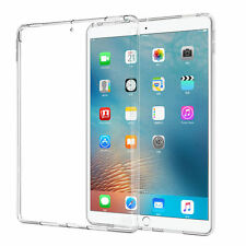 "For Apple iPad Pro 12.9"" 2017 Clear Slim Fit Soft TPU Silicone Back Case Cover"
