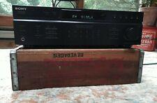 Sony STR-DE197 2 Channel 100 Watt Receiver Tested Working AM -FM Stero Receiver