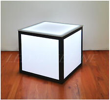 """21"""" LED CUBE END TABLE COLOR CHANGING MODERN"""