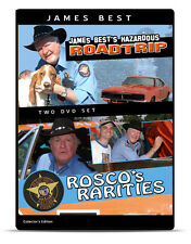 James Best  2 -DVD set - Rosco's Roadtrip & Rosco's Rarities